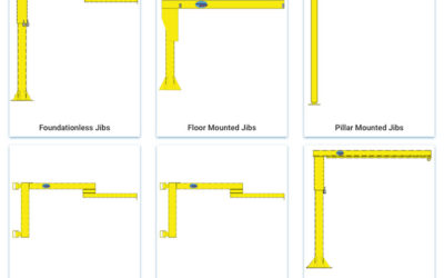CraneMart Express offers a wide variety of jib cranes